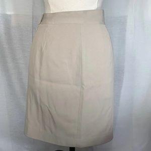 Dresses & Skirts - Beige Straight Pencil Skirt